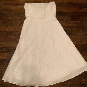 J. Crew Dresses - J.Crew Seersucker, Strapless Dress, size 6